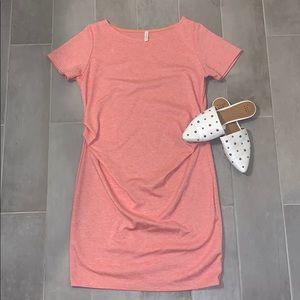 PinkBlush Maternity T-Shirt Dress